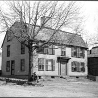 House in which the first Sunday school in New England was held, 1810