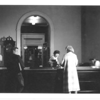 Circulation Desk, Beverly Public Library
