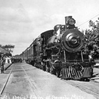Pres. Taft's special train at Beverly, Mass.