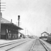 North Beverly depot, ca. 1900