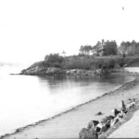 Hospital Point from Patch's Beach