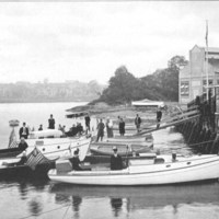 A portion of the motor boat club fleet