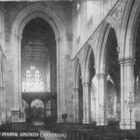 Beverley St. Mary's Church (interior)