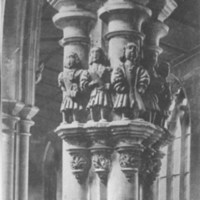 Beverley, St. Mary's church, minstrel pillar