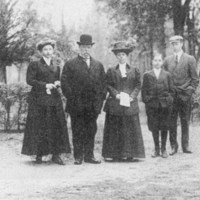President Taft's family in Beverly