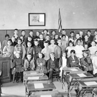Washington School class picture