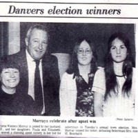 My mother's election as Danvers' selectman