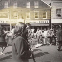 Junior high band, Downtown Danvers Parade, 1968