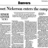 Willard Nickerson, poet
