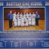 2009-2010 Danvers High School basketball NEC champs