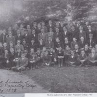 First Students at St. John's Preparatory College 1908