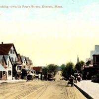 Broadway, looking towards Ferry Street, Everett, Mass.
