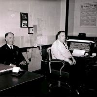 Police dispatch, October 24, 1950