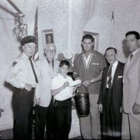 Ted_Williams_Presentation_2_Unk_Bob_Emery_Ronald_Silverio_Ted_Williams_Fire_Commissioner_Adrian_Bax_Richard_B_Callahan_president_of_Everett_Veteran_Firemmen_Association.jpg