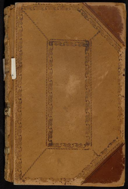 Cover of the Gloucester Selectmen's Records, 1721-1754