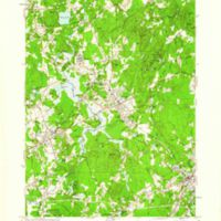 Medfield quadrangle, Massachusetts / Mapped, edited, and published by the Geological Survey