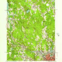 Blackstone quadrangle, Massachusetts--Rhode Island / Mapped, edited and published by the Geological Survey