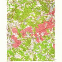 Natick quadrangle, Massachusetts / Mapped, edited, and published by the Geological Survey