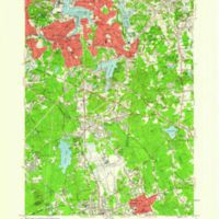 Weymouth quadrangle, Massachusetts / Mapped, edited and published by the Geological Survey