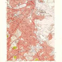 Boston South quadrangle, Massachusetts / Mapped, edited, and published by the Geological Survey