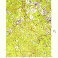Uxbridge quadrangle, Massachusetts / Mapped, edited and published by the Geological Survey