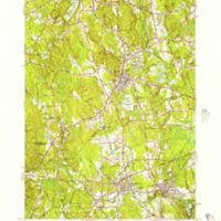 Holliston quadrangle, Massachusetts / Mapped, edited, and published by the Geological Survey ; State of Massachusetts, Department of Public Works