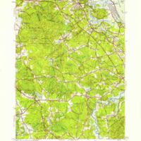 Cohasset quadrangle, Massachusetts / Mapped, edited, and published by the Geological Survey