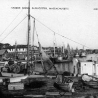 Harbor scene, Gloucester, Massachusetts