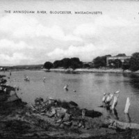 The Annisquam River, Gloucester, Massachusetts