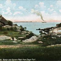 Gloucester, Mass., harbor and Eastern Point from Stage Fort