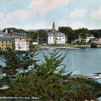Inner harbor, Manchester-by-the-Sea, Mass.