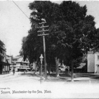 The square, Manchester-by-the-Sea, Mass.