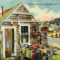 Fisherman's shack, Bearskin Neck, Rockport, Mass.