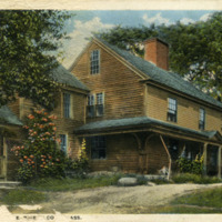 The old Witch House, Pigeon Cove, Mass.