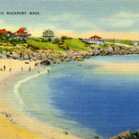 Headrock Beach, Rockport, Mass.