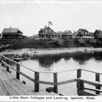 Little Neck cottages and landing, Ipswich, Mass.