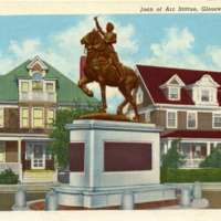 Joan of Arc statue, Gloucester, Mass.