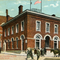 Post Office and Custom House, Gloucester, Mass.