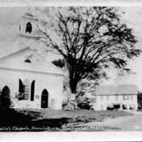 Universalist Church, Annisquam, Gloucester, Mass. on Cape Ann