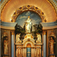 Altar of Our Lady of Good Voyage Church, Gloucester, Massachusetts