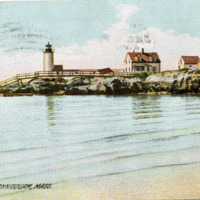 Light house, Annisquam, Mass.