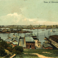 View of Gloucester, Mass.