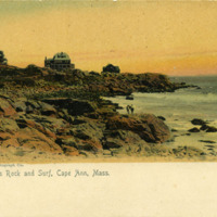 Bass Rock and surf, Cape Ann, Mass.