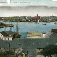 Harbor and Gloucester, [Mass.] from E. Gloucester