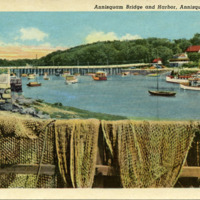 Annisquam bridge and harbor, Annisquam, Mass.