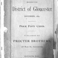 List of vessels belonging to the district of Gloucester (1889)