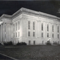 Public library, Illuminated
