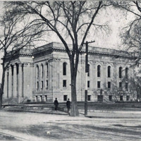 Public library before building of Boys' Club