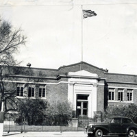 Public Library, Houghton Branch, 1950