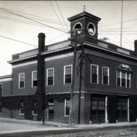 Chestnut Street Fire Station, corner of Pond Street.